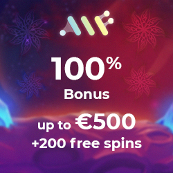 Alf casino Welcome bonus