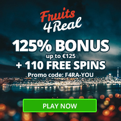 FruitsforReal casino 110 freespins