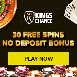 Kings Chance casino 30freespins