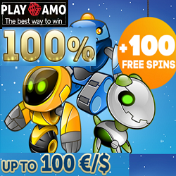 playamo casino 100 free spins