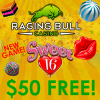 25free no deposit raging bull casino
