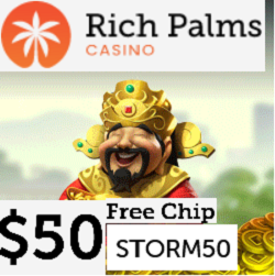 Richpalms casino $50 free