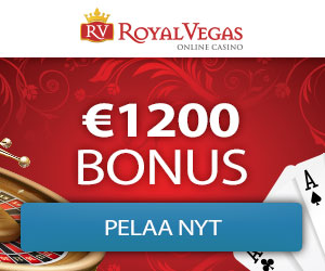 Royal Vegas Casino 1200 free