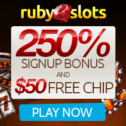 Ruby Slots casino $25 Free Chip
