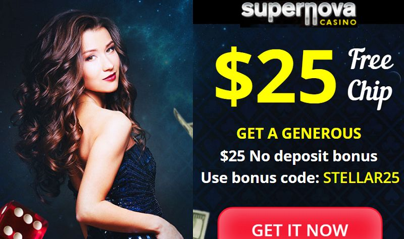 super nova casino $25 free offer