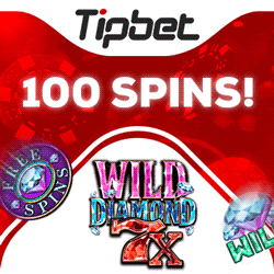 Tipbet casino 100 free spins