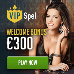 Vipspel casino 300 euro welcome bonus