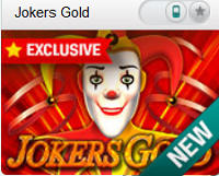 jokers gold new game at coralcasino