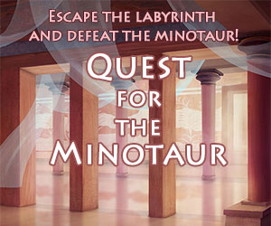 Quest for the Minotaur new game